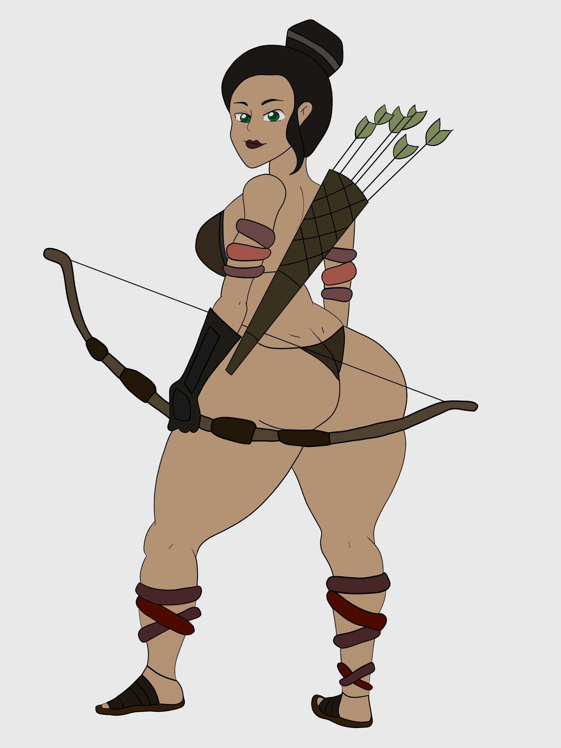 Jenny (The Warrior) by Flavio170