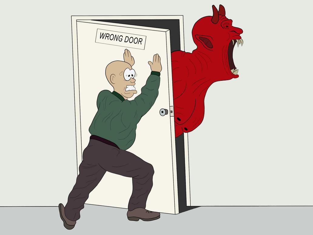 Wrong Door by Flavio170