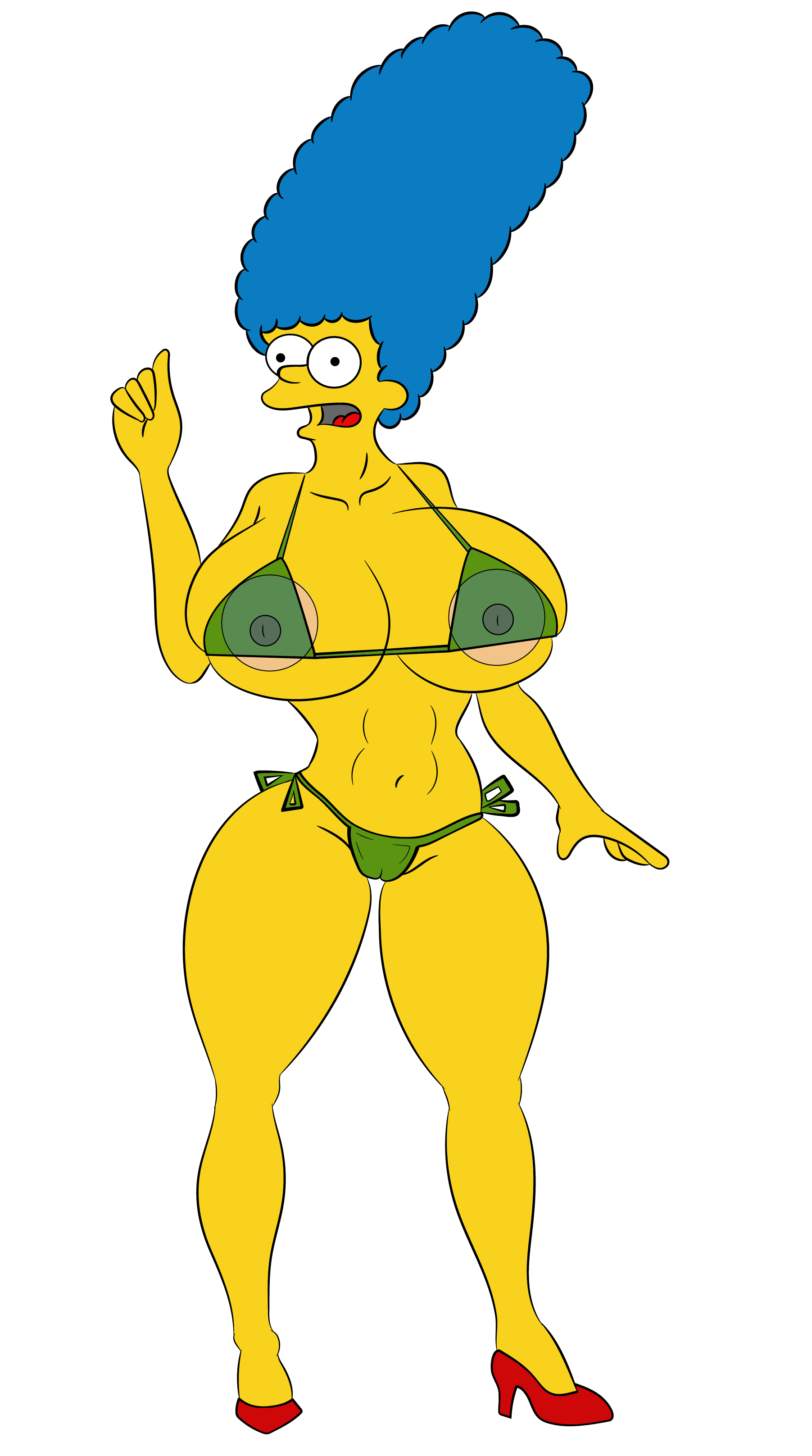 Marge- Hot Mama by Flavio170