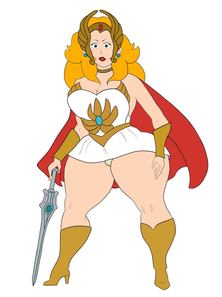 Princess Peach Costume -Shera by Flavio170
