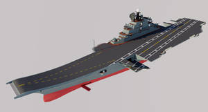 Project 221 Aircraft Carrier