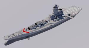 H-60 Super Battleship 1980 Retrofit