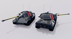Kampfpanzer 75 Ausf.F Heavy Tank by TheoComm