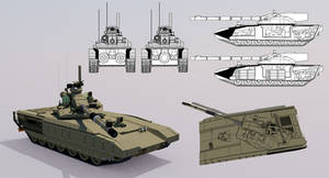 HS-81 Main Battle Tank by TheoComm