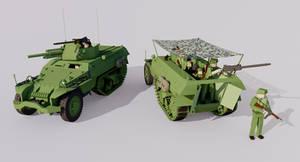 Armored Half-Track, Model 4