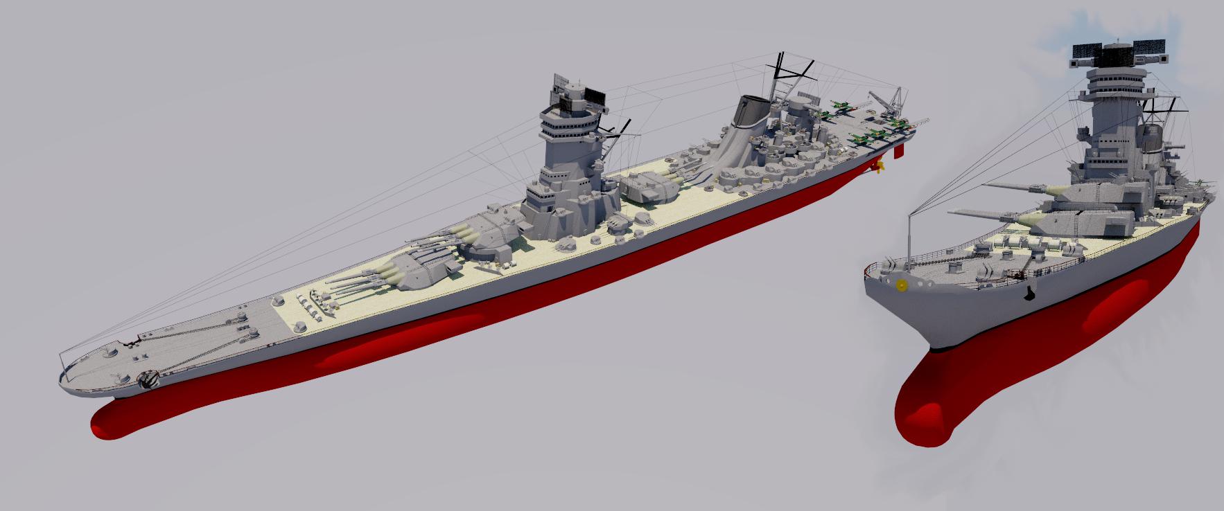 Yamato class battleship g3n3 configuration by theocomm on deviantart yamato class battleship g3n3 configuration by theocomm malvernweather Images