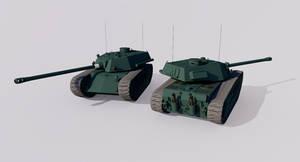 ACT-55 127 Heavy Tank
