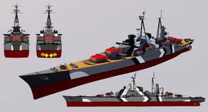 Prinz Heinrich-class Advanced Heavy Cruiser by TheoComm