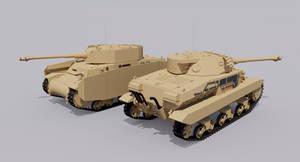 Carro Armato M36/43 Medium Tank