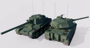 Typ V Schneide Medium Tank