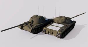 105mm Gun Combat Tank M50