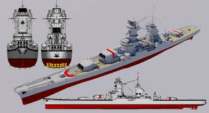 Project 15 class Heavy Cruiser by TheoComm