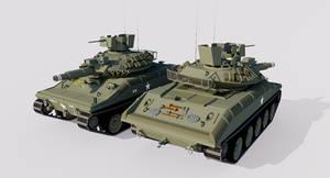 M551 Sheridan Light Tank (+Sketchfab Link)