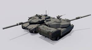 120mm Armored Gun System M15A5S+