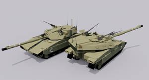 Centaur III Main Battle Tank