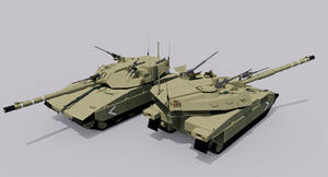 Centaur III Main Battle Tank by TheoComm