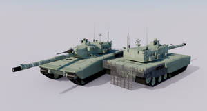 Karlmann Serie XVII Main Battle Tank