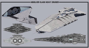[StarWars] Absolver-class Heavy Cruiser by TheoComm