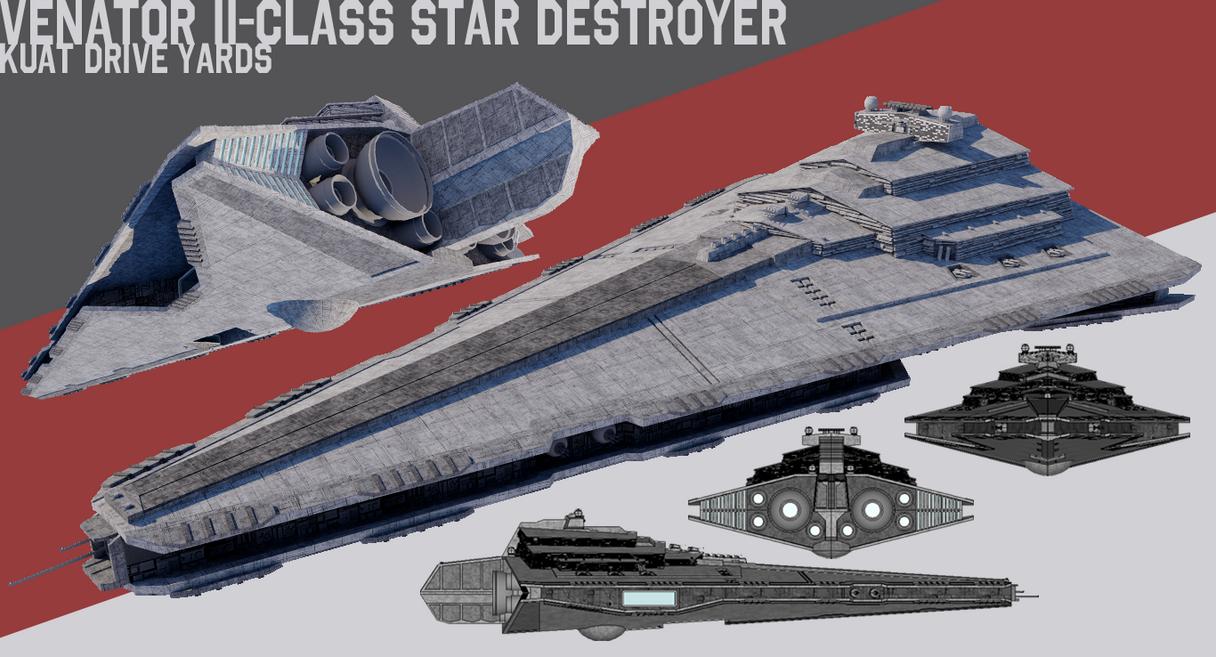 [StarWars] Venator II-class Star Destroyer