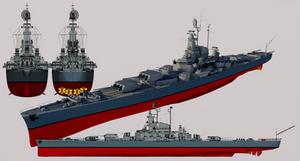 Magnificent-class Heavy Cruiser