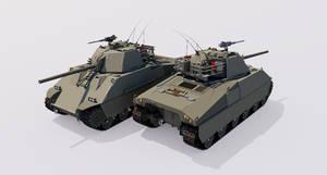 Heavy Assault Tank, M40A2E1