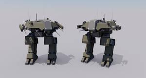 [Commission] Kodiak Armored Battle Walker