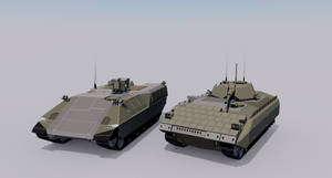 [Commission] Ram Heavy IFV and Bison Heavy APC