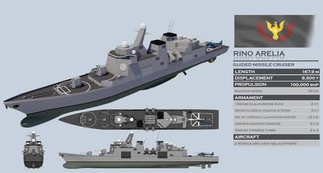 Rino Arelia-class Guided Missle Cruiser