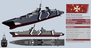 Kohlmann-class Guided Missile Cruiser
