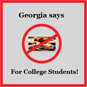 Food Stamps For Georgia College Students