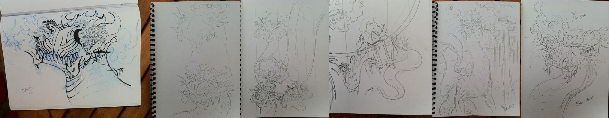 Wood Warden Dragon by Malinidk