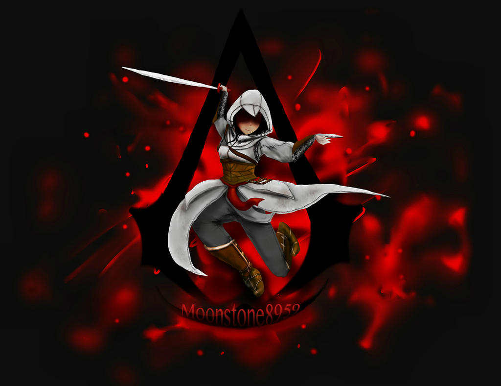 Assasins Creed Moonstone by EDsnowydragon