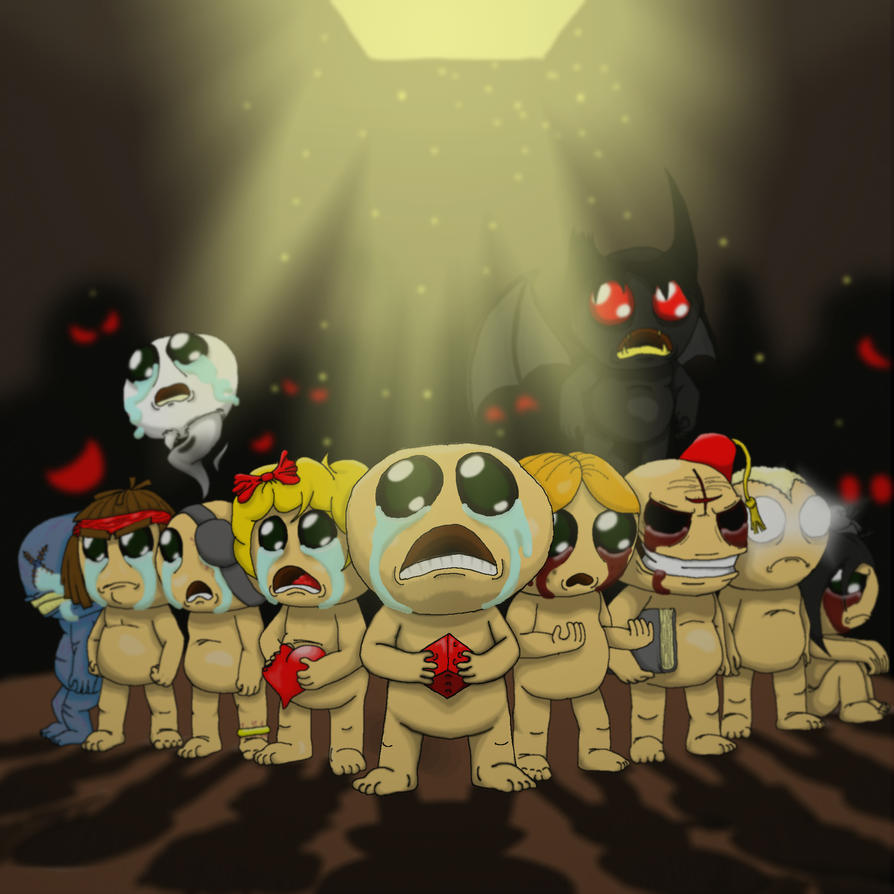 Binding Of Isaac Rebirth By Chopangigante On DeviantArt