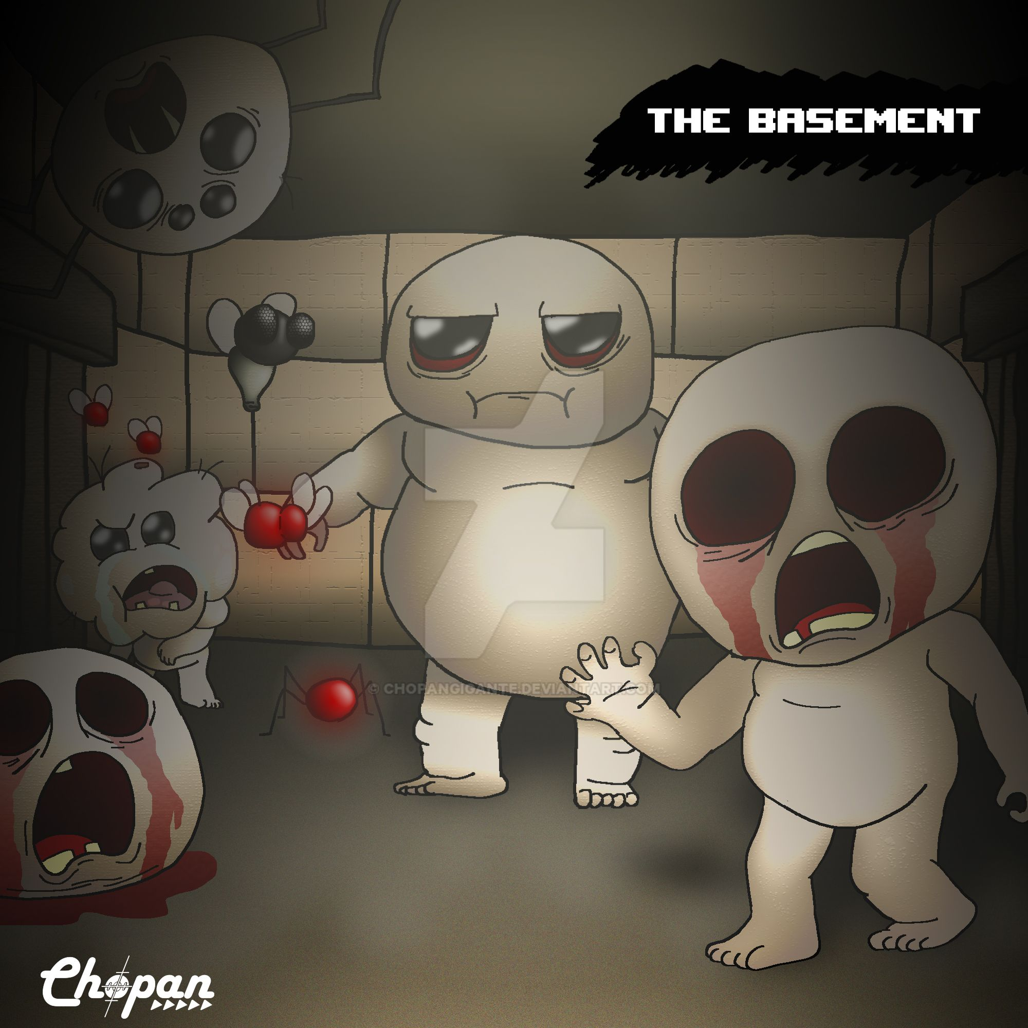 welcome to the basement by chopangigante on deviantart