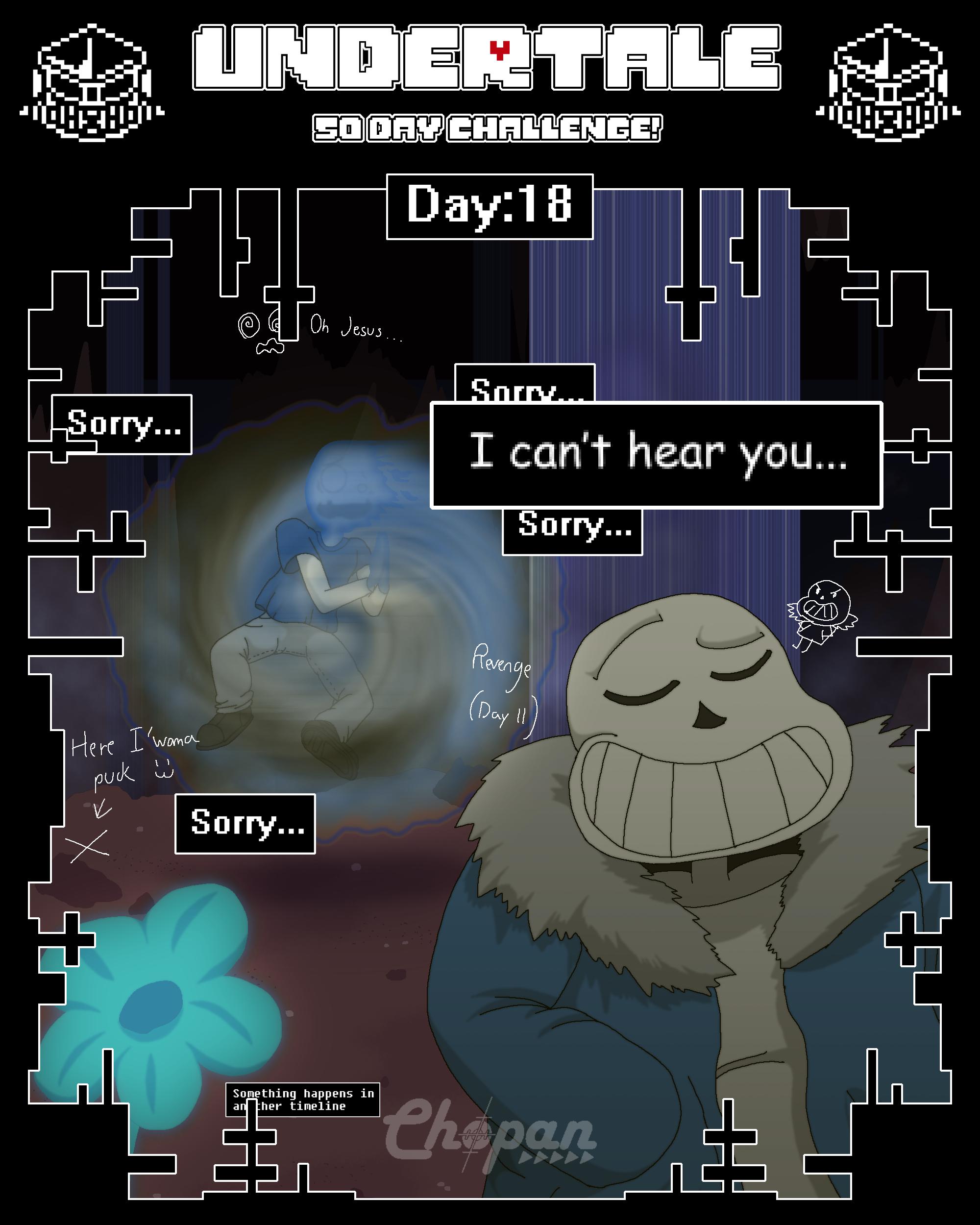 Undertale 50 Day Challenge! 18/50 By Chopangigante On