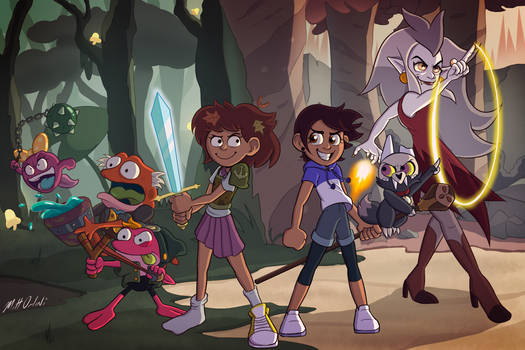 Amphibia/Owl House crossover