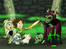 Black Cauldron by NoDiceMike