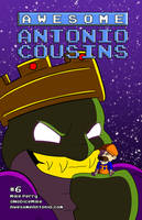 Awesome Antonio Cousins #6 by NoDiceMike