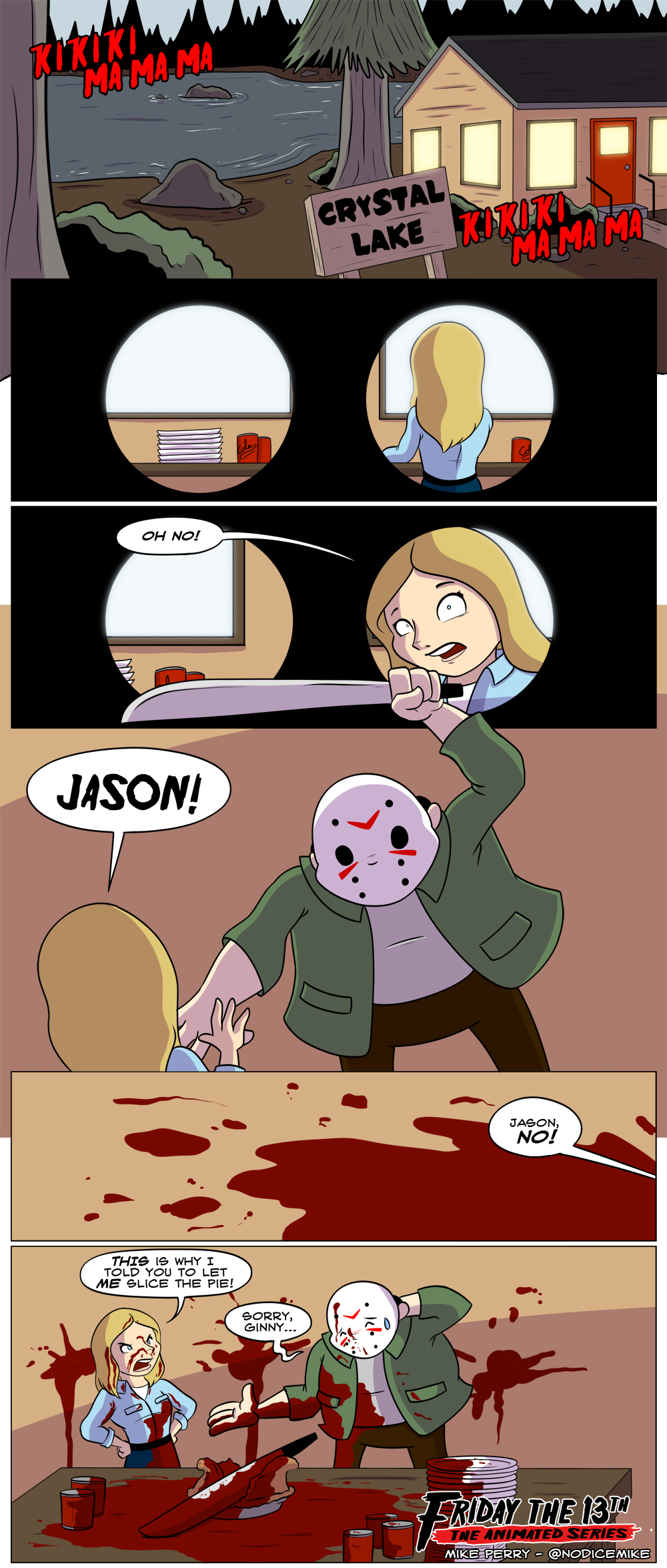 Friday the 13th - The Animated Series - 1 by NoDiceMike