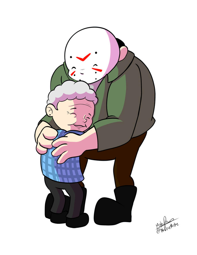 Jason loves his Mommy by NoDiceMike