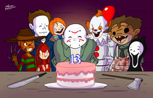 Happy Birthday, Jason by NoDiceMike