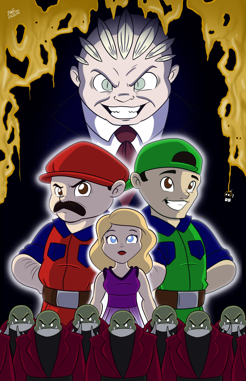 Super Mario Bros: The Movie 25th Anniversary by NoDiceMike