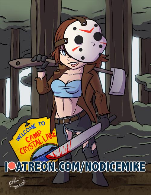 Jason-Bishoujo by NoDiceMike