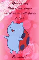 Valentine Catbug by kelseyleah