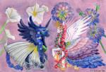 MLP Flowers of Harmony - Luna and Celestia