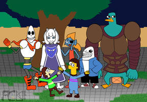 Undertale with Phineas and Ferb