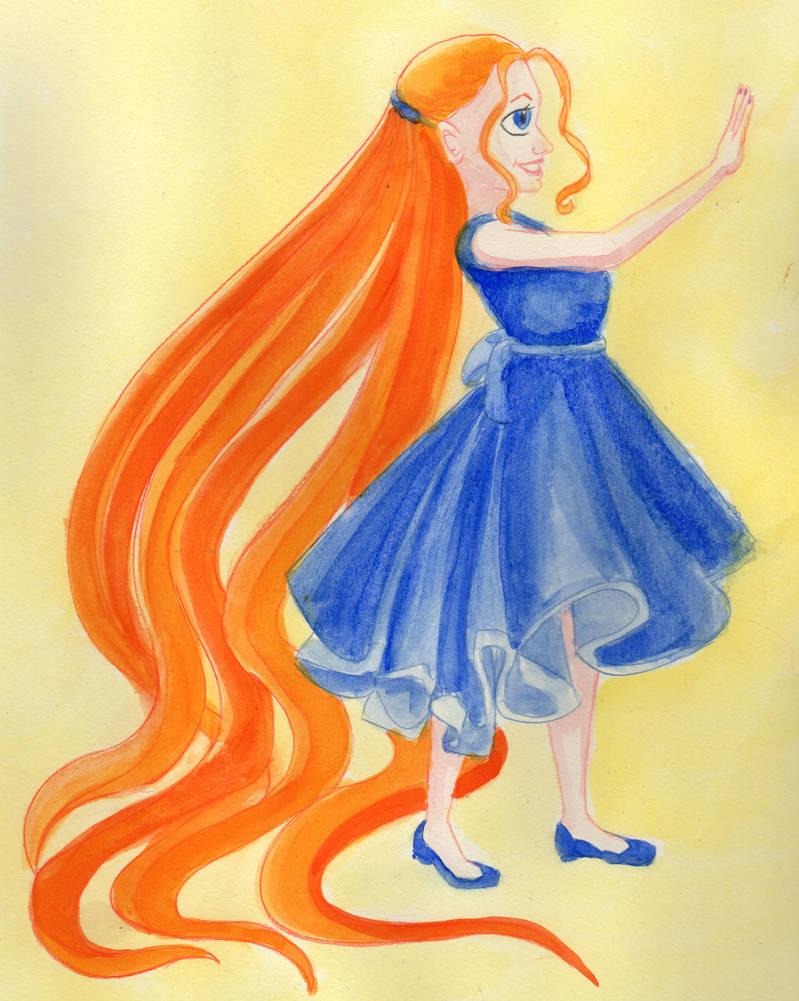 Glorianna Traditional Watercolor Color 1