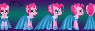 Pinkie Pie Gem Dress Turnaround