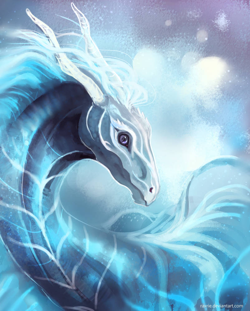 Dragon by Raxrie