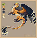 Dragon design auction [CLOSED] by Raxrie